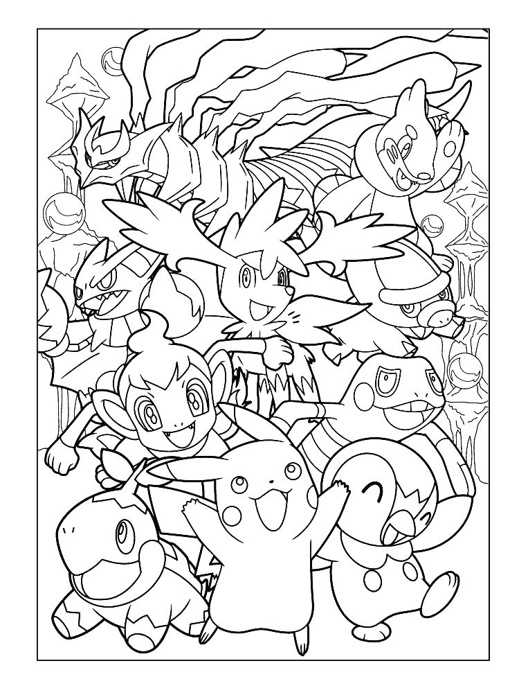 image regarding Printable Coloring Pages Pokemon named Absolutely free Pokemon Coloring Webpages Black And White at GetDrawings
