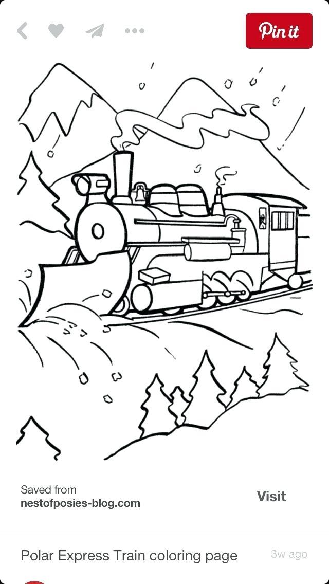 640x1136 Polar Express Coloring Page Polar Express Coloring Pages Printable