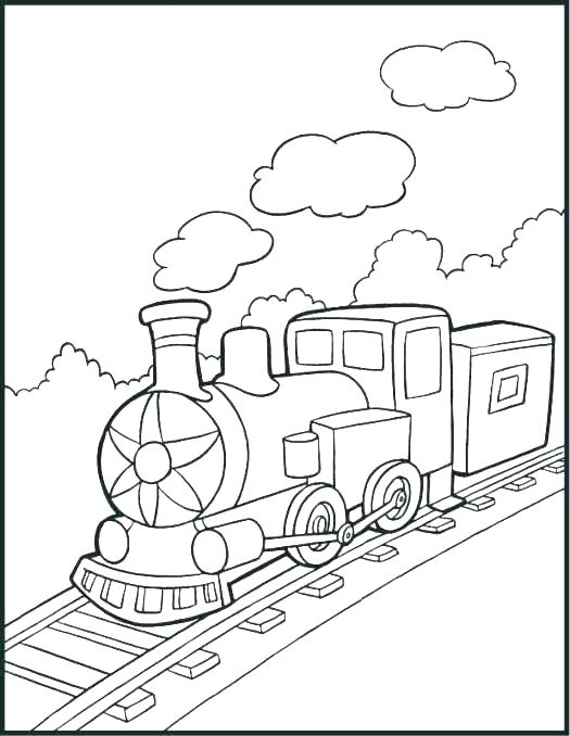 525x678 Coloring Page Train Polar Express Train Coloring Pages Polar