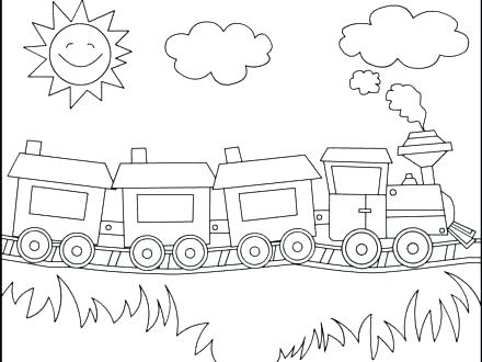 440x330 Polar Express Train Coloring Pages Free Polar Express Coloring
