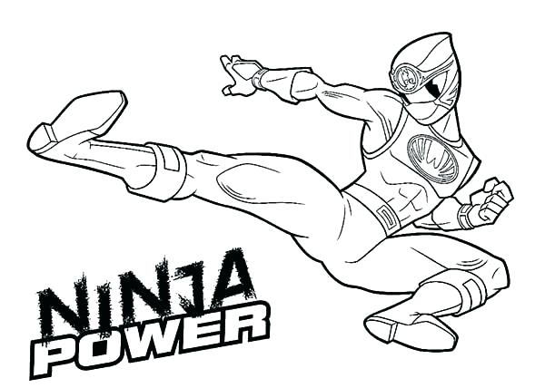600x428 Power Ranger Samurai Coloring Pages Power Ranger Coloring Pages