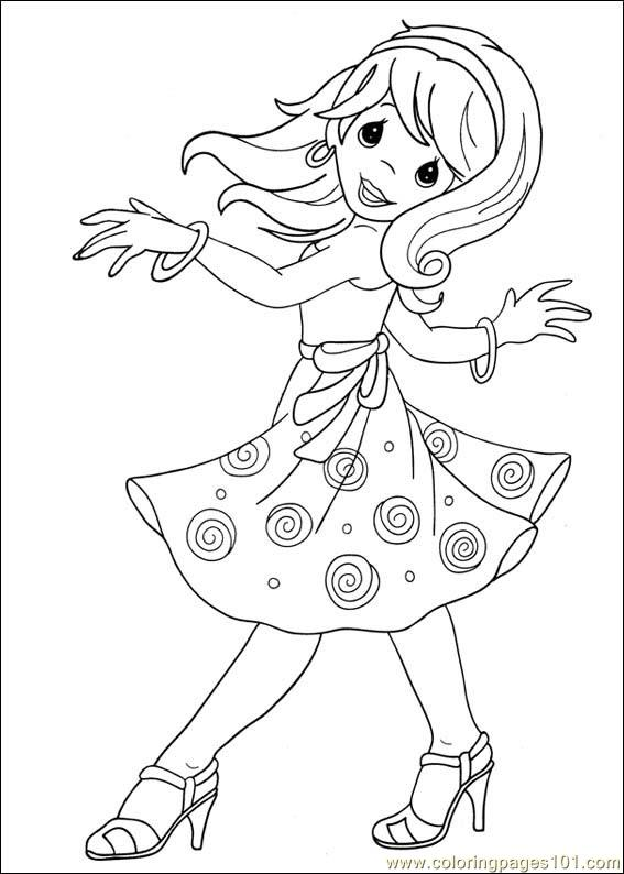 567x794 Precious Moments Coloring Page