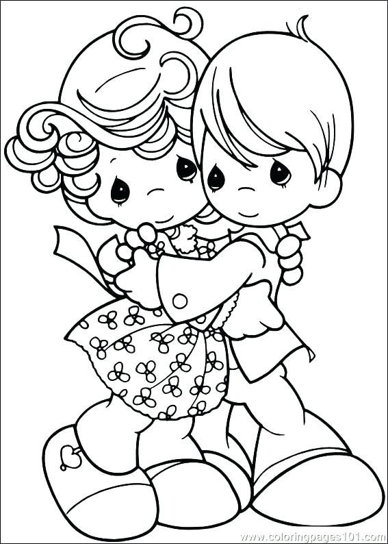 567x794 Precious Moments Valentine Coloring Pages Precious Moments