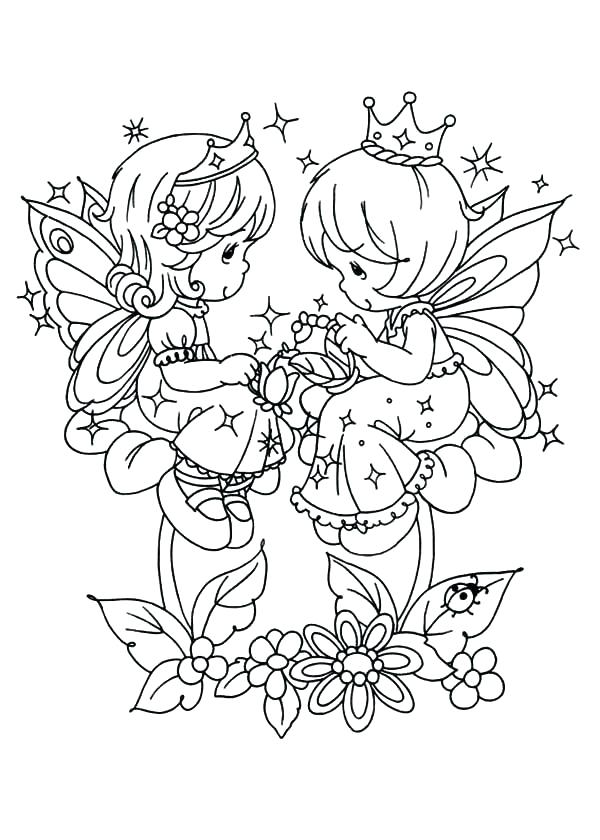 600x840 Free Precious Moments Coloring Page Coloring Collection