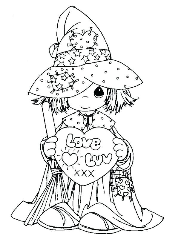 606x800 Coloring Pages Precious Moments Precious Moments Free Printable