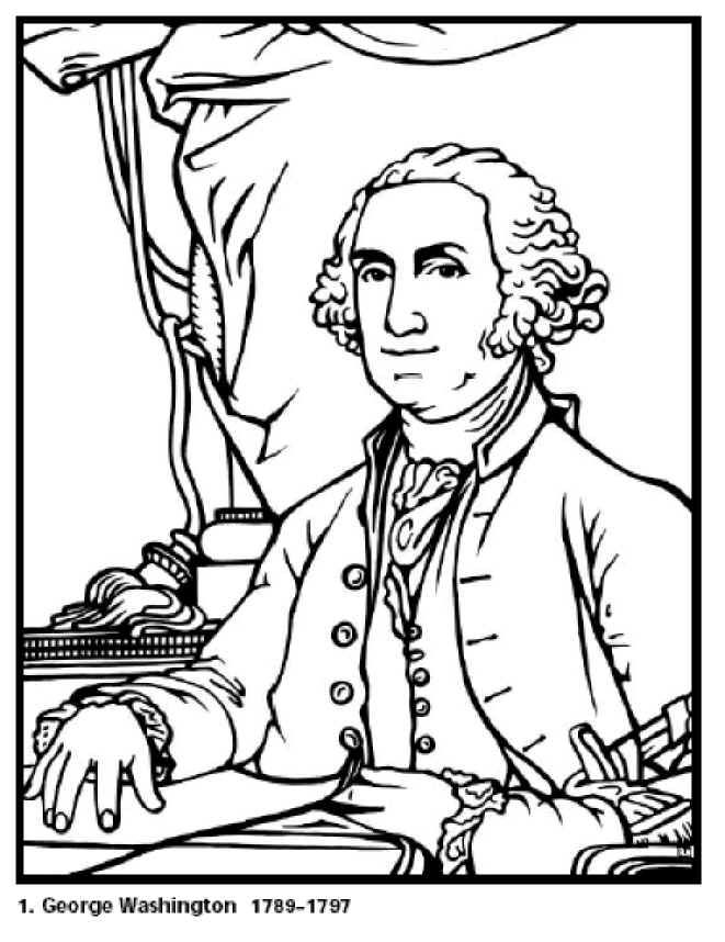 661x858 Free Coloring Pages For Kids George Washington Our First
