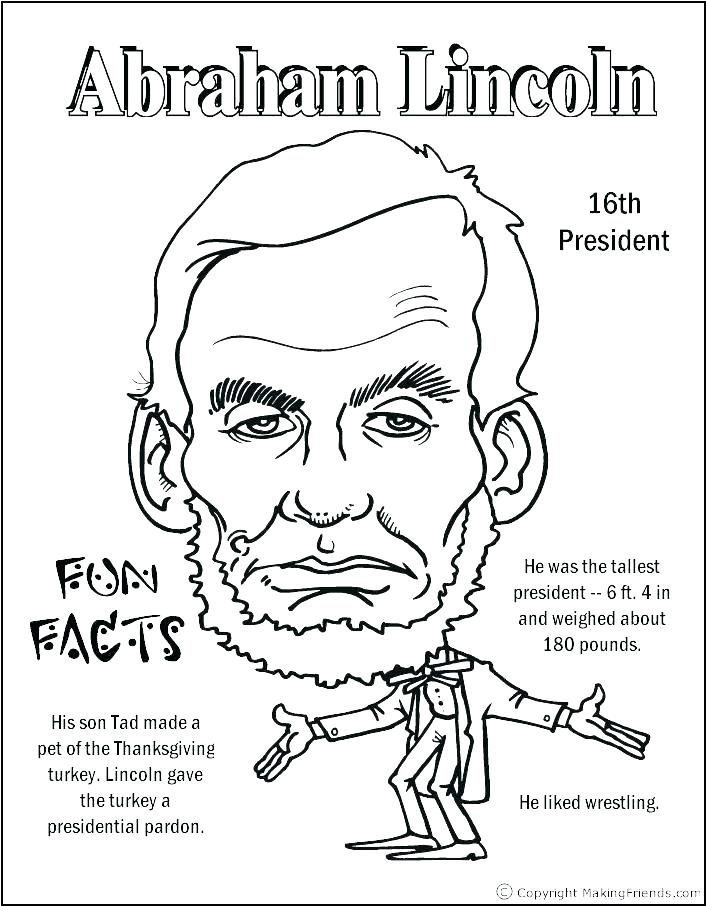 706x906 Free Presidents Day Coloring Sheets Us Presidents Coloring Pages