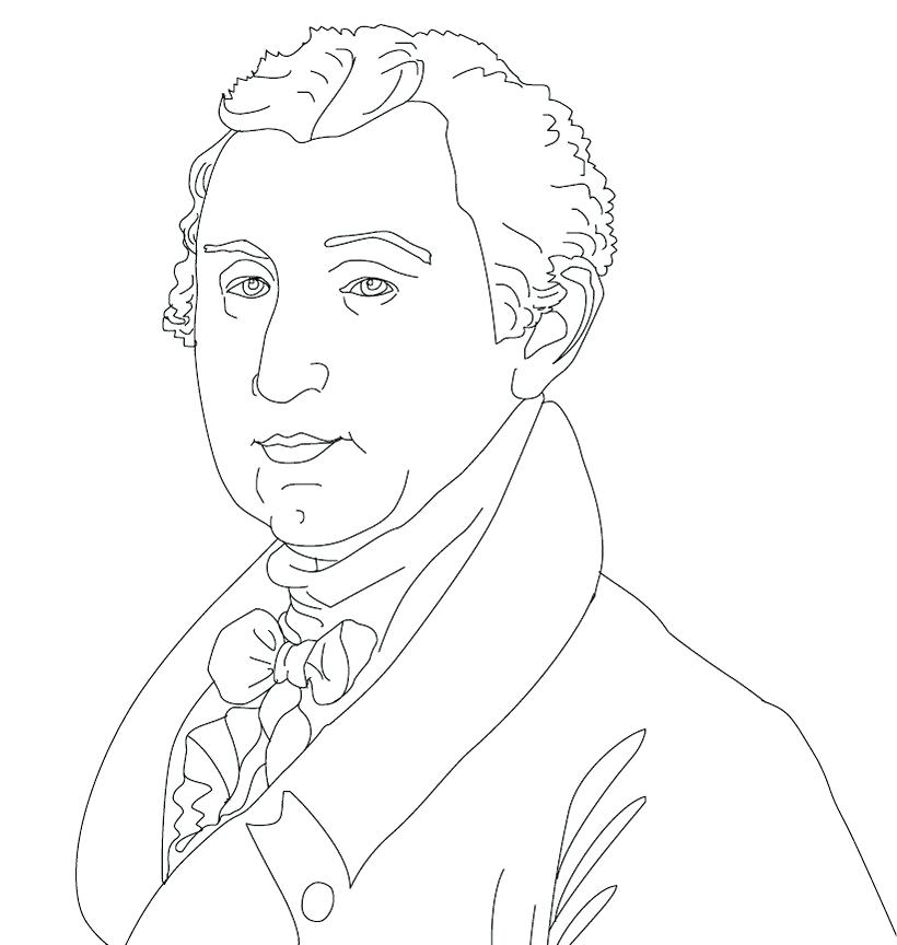 820x864 President Coloring Pages President Day President Coloring Pages