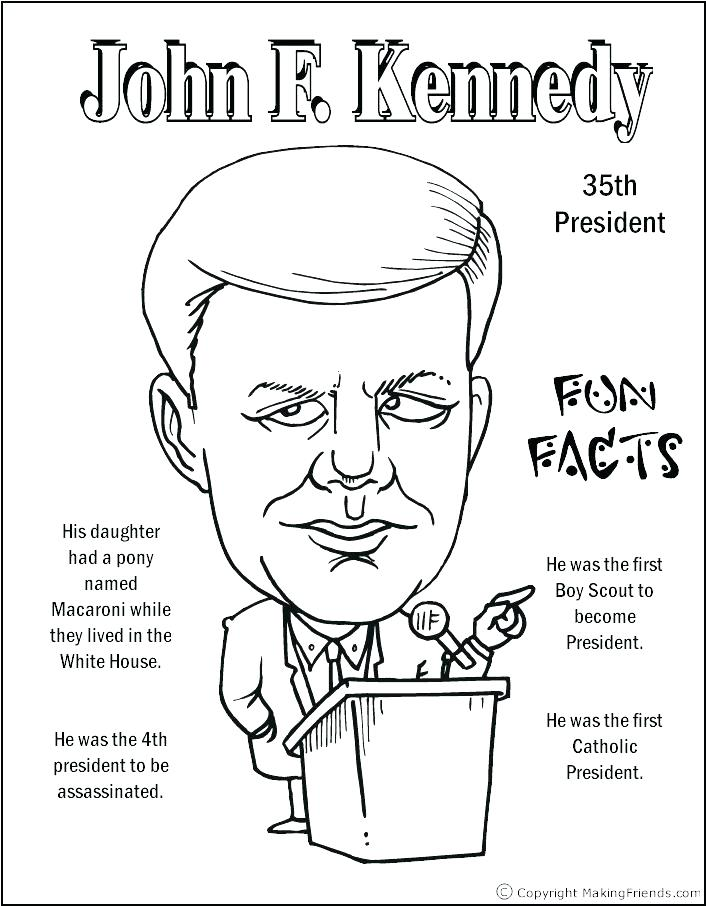 706x906 President Coloring Pages With Facts
