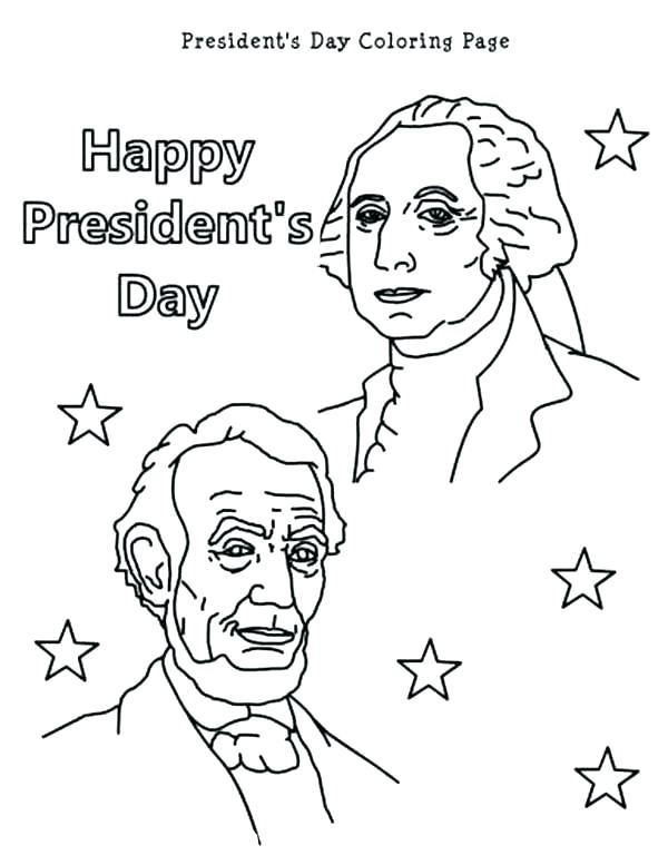600x777 President Obama Coloring Page President Coloring Page Free
