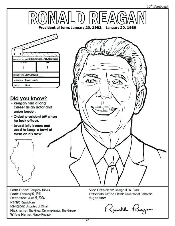612x792 Us President Franklin Delano Roosevelt Coloring Page President