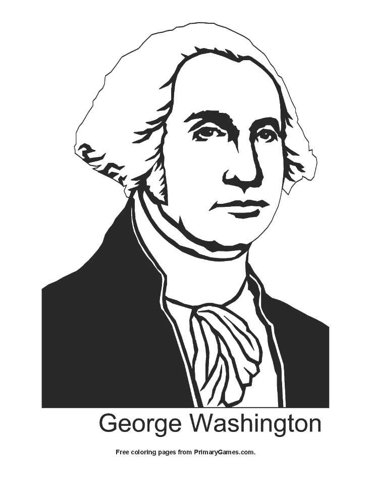735x951 Presidents' Day Coloring Pages Printable Coloring Ebook