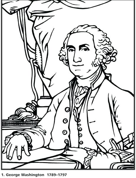 461x600 Presidents Coloring Pages President Coloring Pages Presidents Day