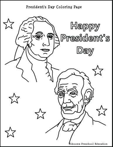 386x500 Presidents Day Coloring Page Presidents Day Coloring Pages
