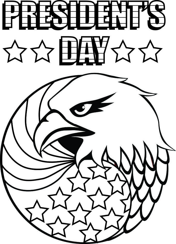 682x944 Presidents Day Coloring Pages Printable Free