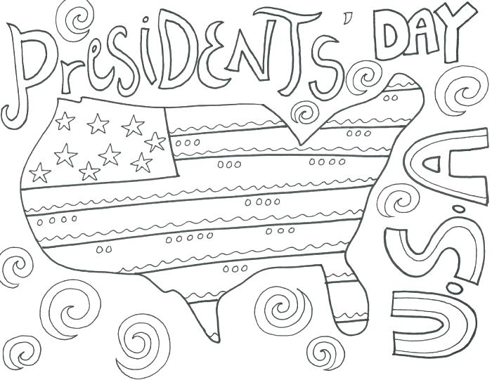 700x541 Coloring Pages Of Presidents Presidents Day Coloring Pages Pic
