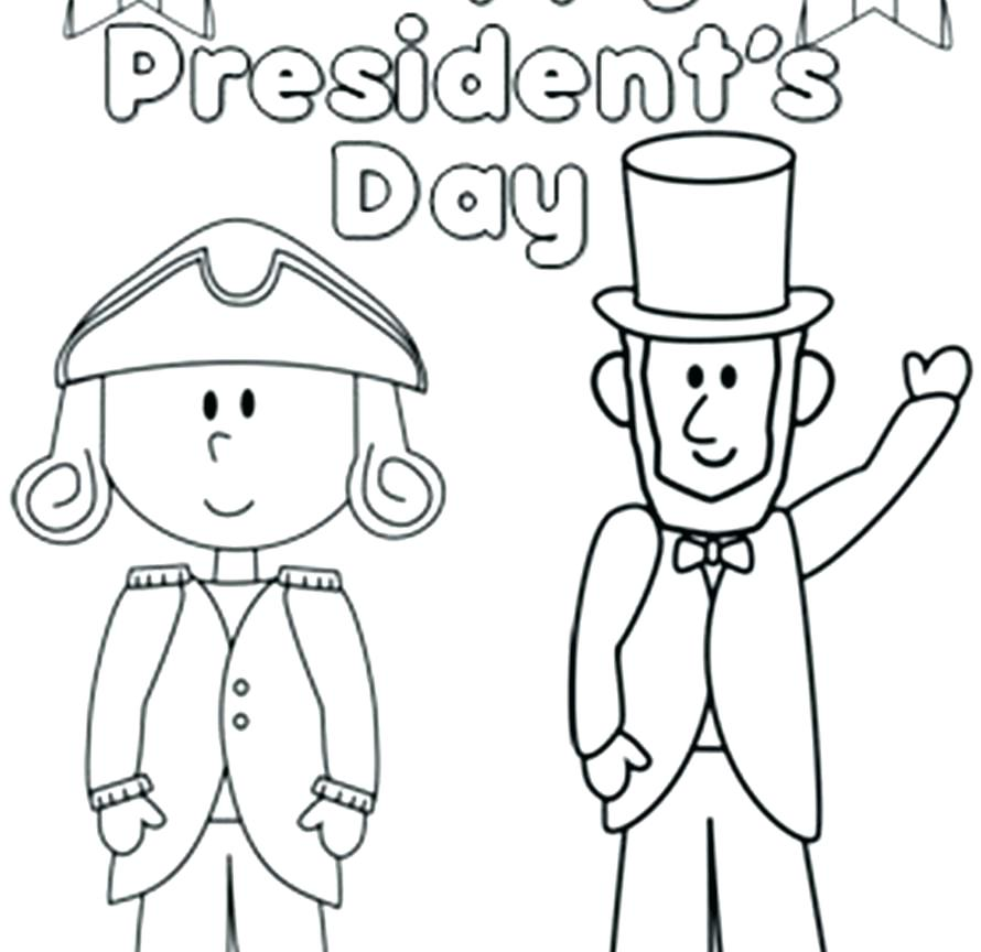 890x864 Free Presidents Day Coloring Sheets President Coloring Page