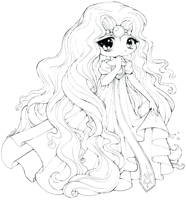 Free Princess Coloring Pages To Print