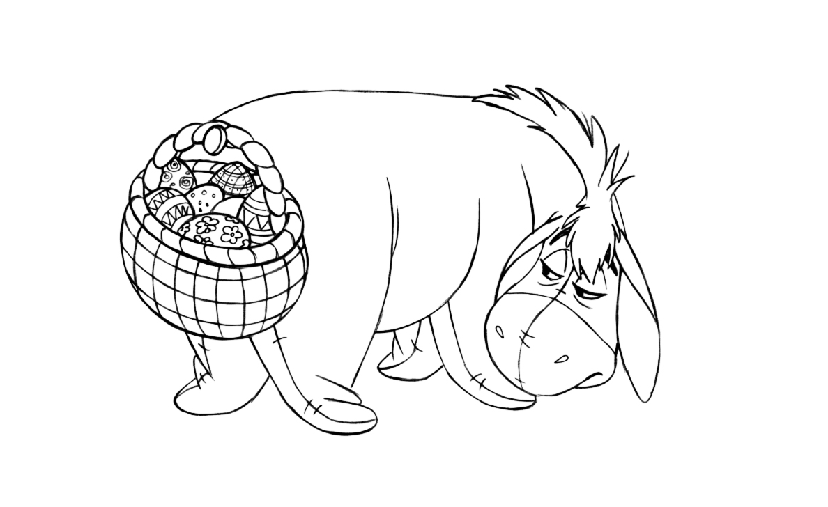 1188x728 Free Printable Easter Coloring Pages Disney
