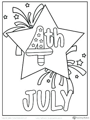 photograph about 4th of July Coloring Pages Printable named Absolutely free Printable 4th Of July Coloring Webpages at