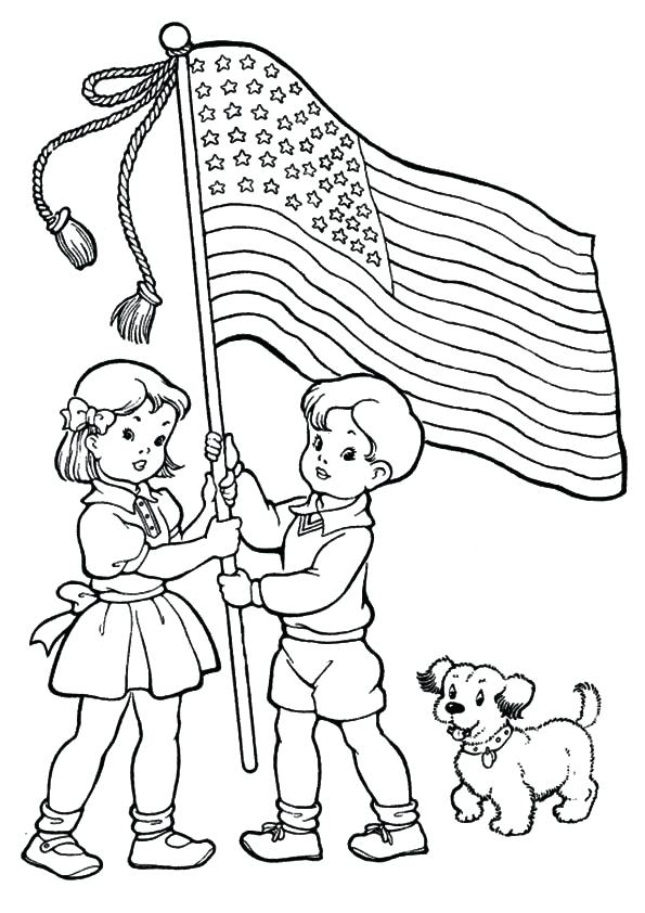 595x842 July Coloring Pages Free Printable Fourth Of Coloring Pages Fourth