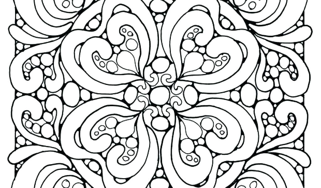 1024x600 Cool Printable Abstract Coloring Pages Best Abstract Coloring