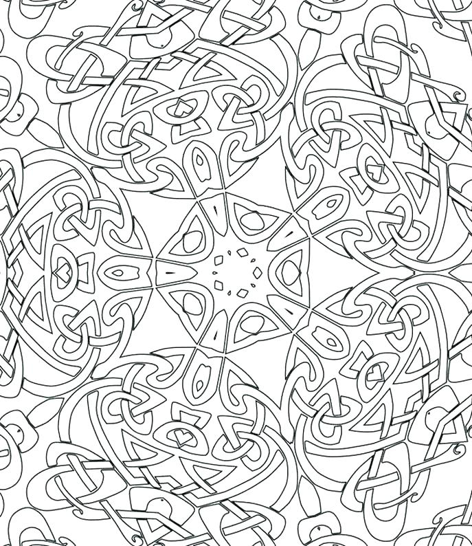 687x794 Free Abstract Coloring Pages Free Abstract Coloring Pages
