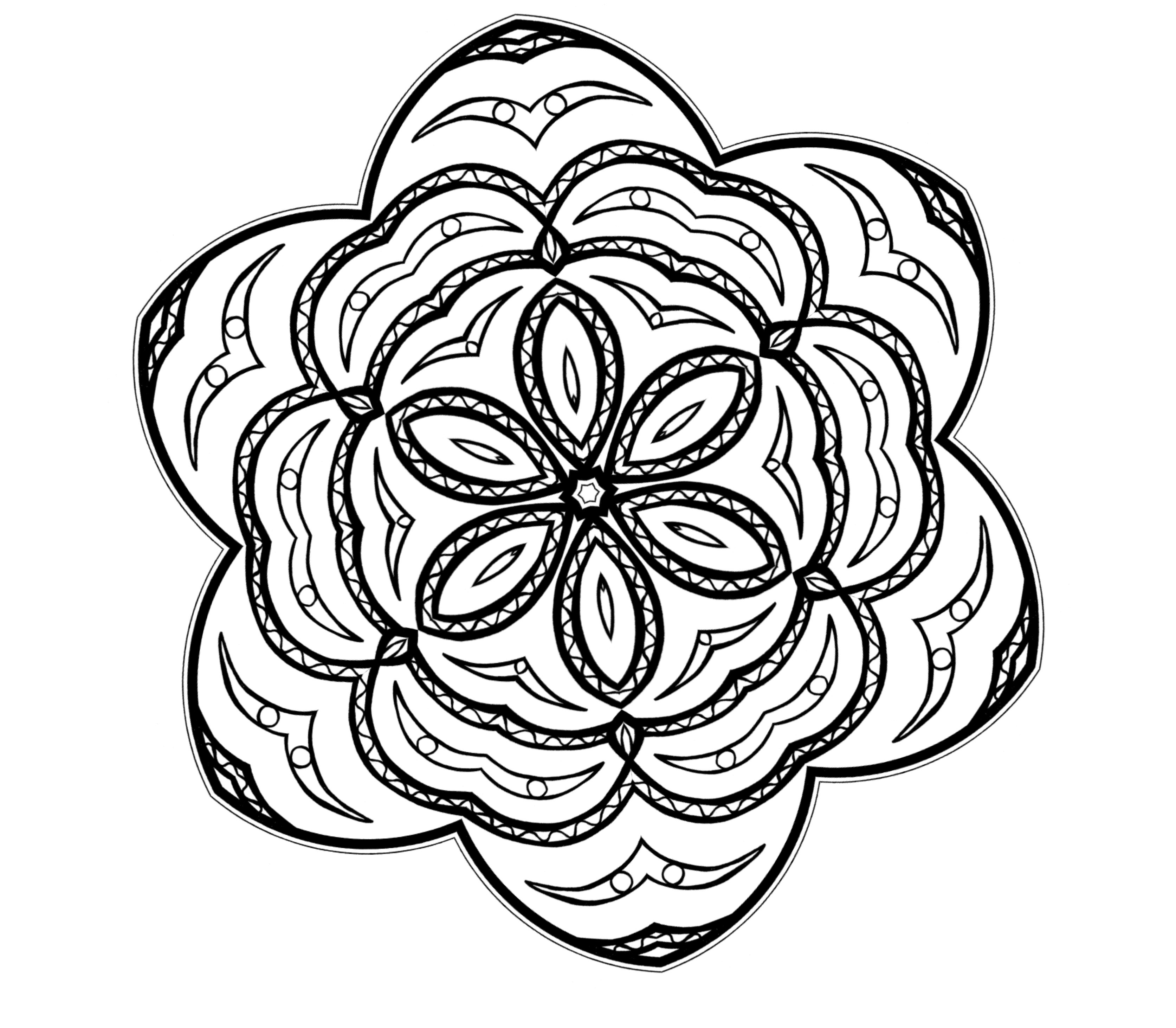 3346x2924 Free Printable Abstract Coloring Pages For Kids