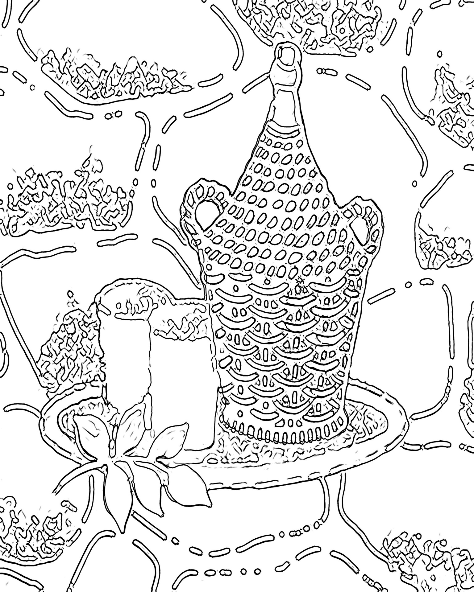 1536x1920 Free Printable Abstract Coloring Pages For Adults