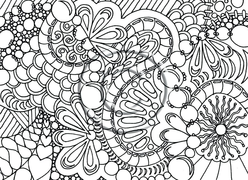 1024x744 Coloring Pages Printable Abstract Coloring Pages Gallery