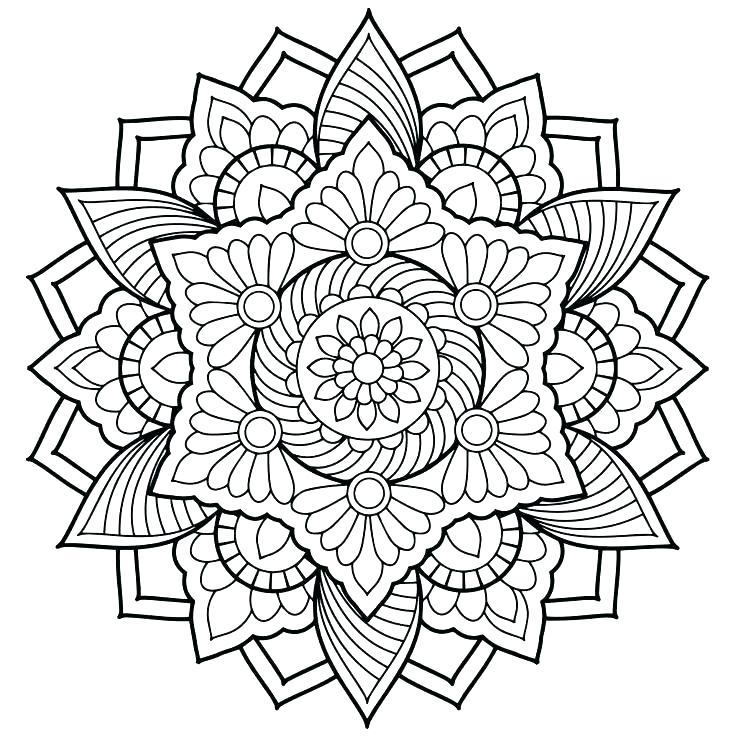 736x736 Abstract Coloring Page Printable Abstract Coloring Pages Free