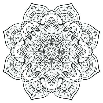 440x440 Abstract Coloring Pages For Adults And Artists Spectacular Design
