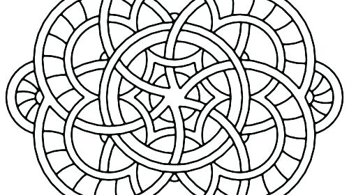500x280 Abstract Coloring Pages Free Hard Coloring Pages Free Free