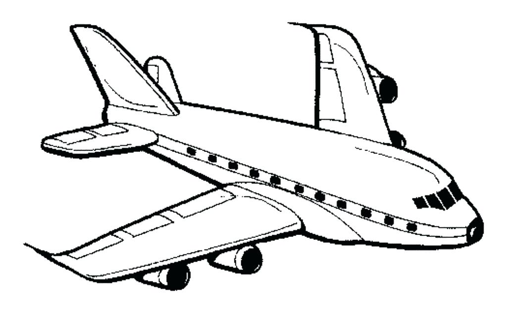 graphic about Printable Airplane Coloring Pages called No cost Printable Aircraft Coloring Webpages at