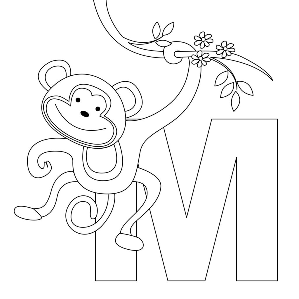 1024x1024 Free Printable Alphabet Coloring Pages For Kids