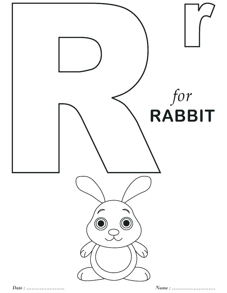 738x954 Printable Letter Coloring Pages Alphabet Coloring Sheets