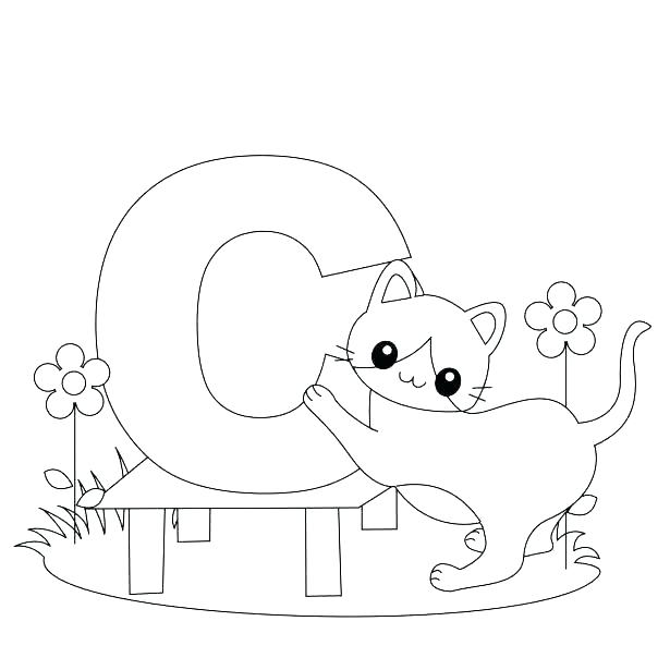 615x615 Alphabet Coloring Pages Printable Free Printable Coloring Pages