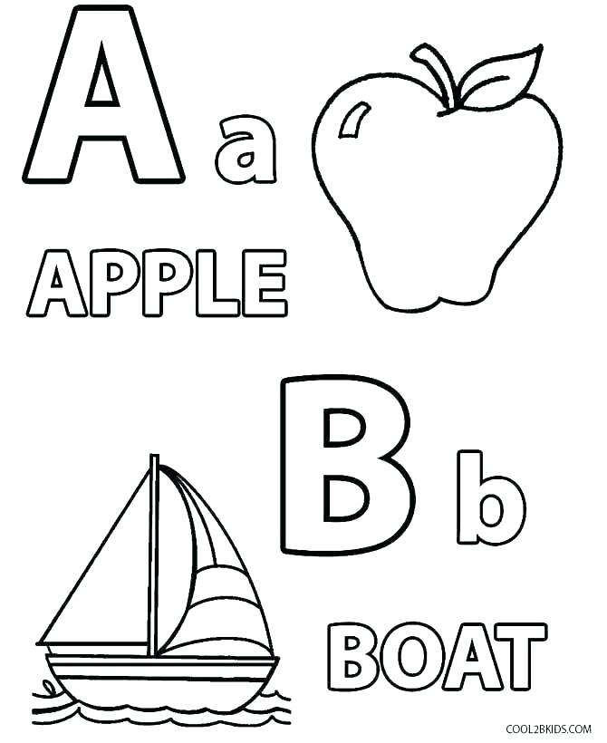 Free Printable Alphabet Coloring Pages For Toddlers at GetDrawings ...