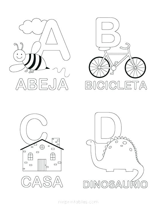 547x718 Printable Alphabet Coloring Pages Free Alphabet Coloring Pages