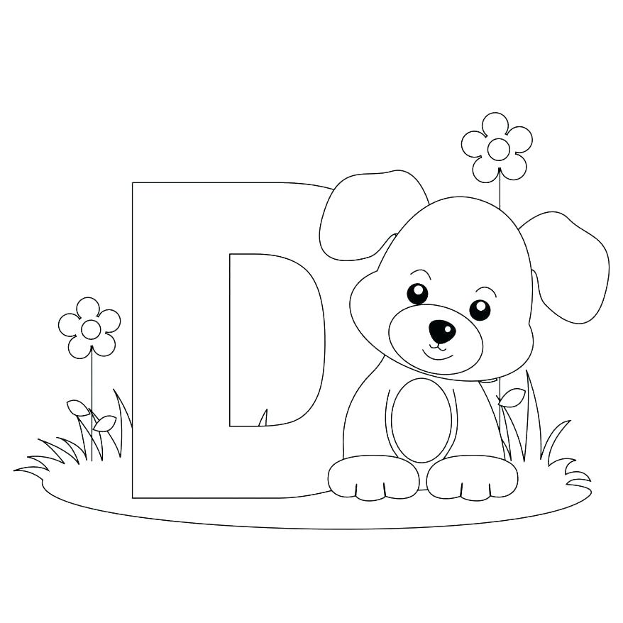 878x878 Printable Letter Coloring Pages Printable Letter Coloring Pages