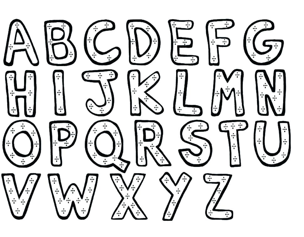 970x757 Alphabet Coloring Pages For Toddlers Alphabet Coloring Pages A Z
