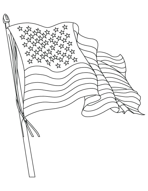 630x810 Flag Outline Free Printable Coloring Pages New Flag Outline Nice