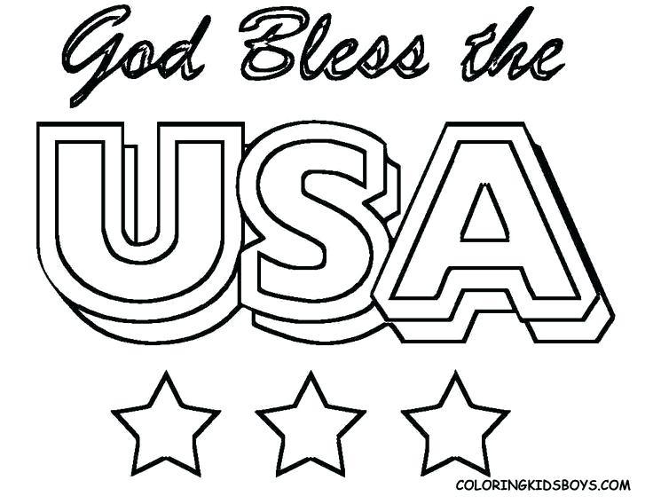 736x568 Free Printable American Flag Coloring Page Patriotic Coloring