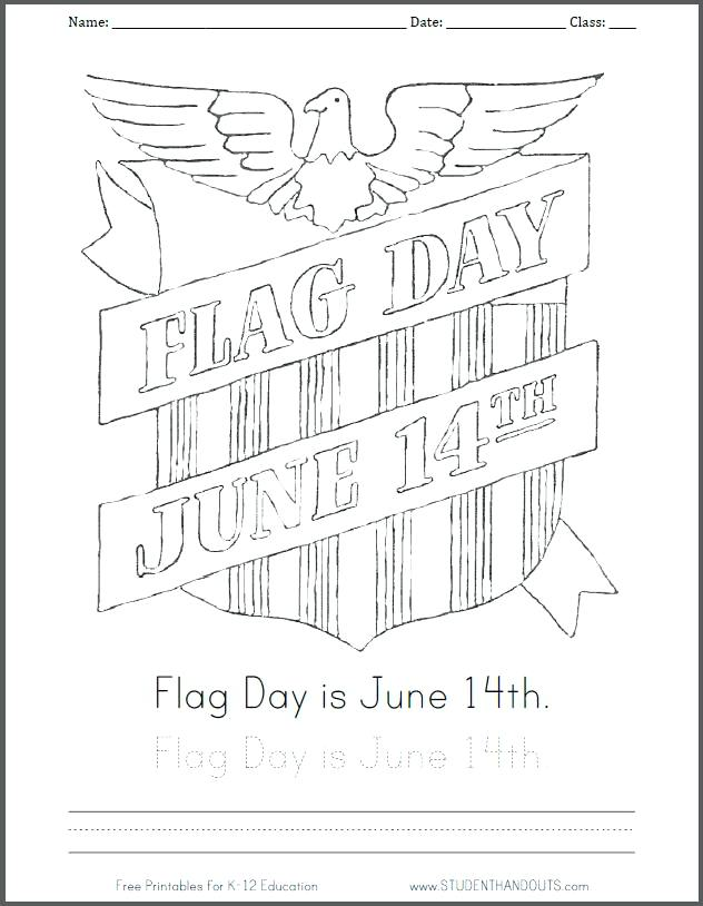 632x814 Free Printable American Flag Coloring Page