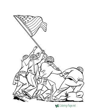 300x367 American Flag Coloring Page New Free Printable Of July