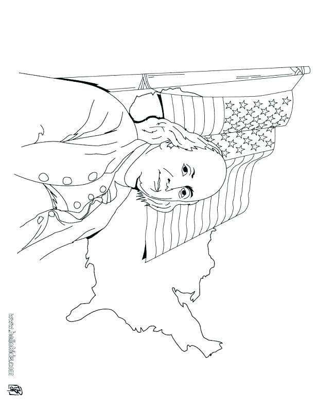 618x799 American Flag Coloring Pages For Toddlers I Love Page Free