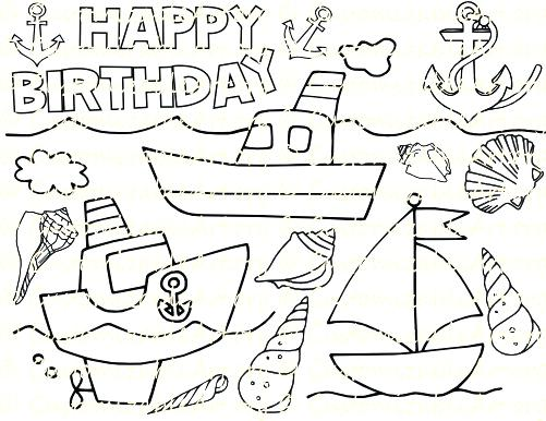 501x386 Anchor Coloring Pages Free Source