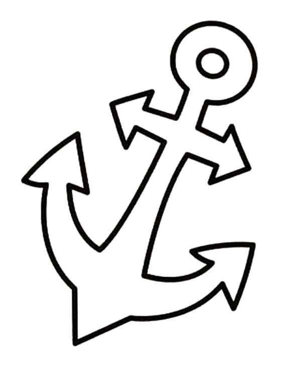 600x751 Anchor Coloring Page Anchor Coloring Pages Printable Free Coloring