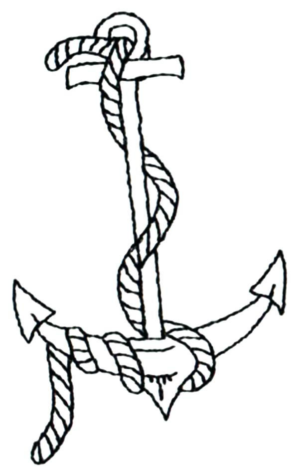600x951 Anchor Coloring Page Wallbox Club