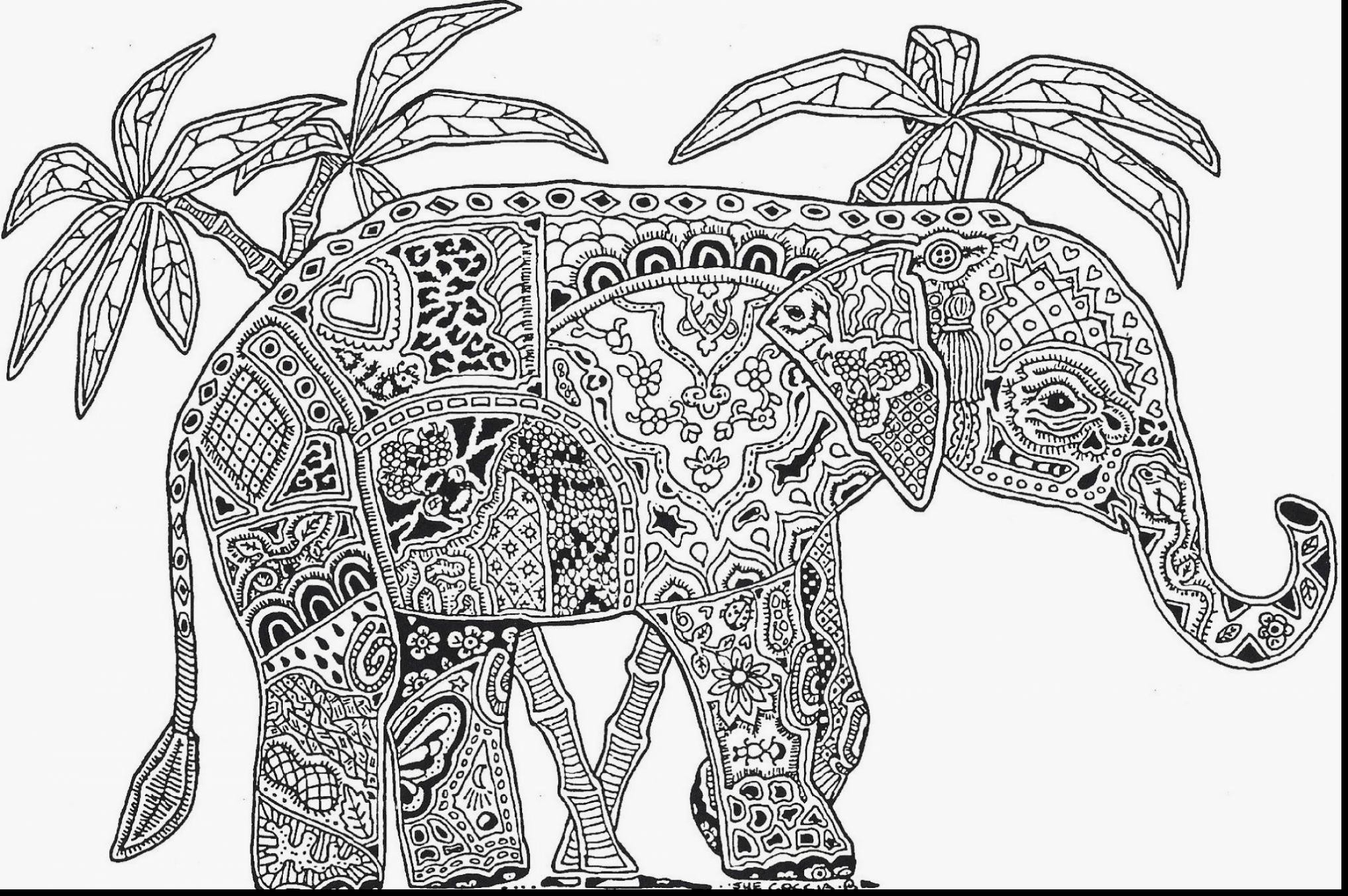 Free Printable Animal Mandala Coloring Pages At Getdrawings